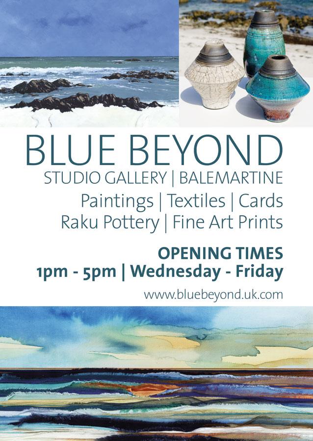 blue beyond poster