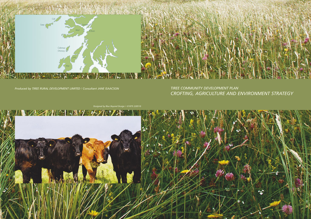 crofting strategy brochure cover