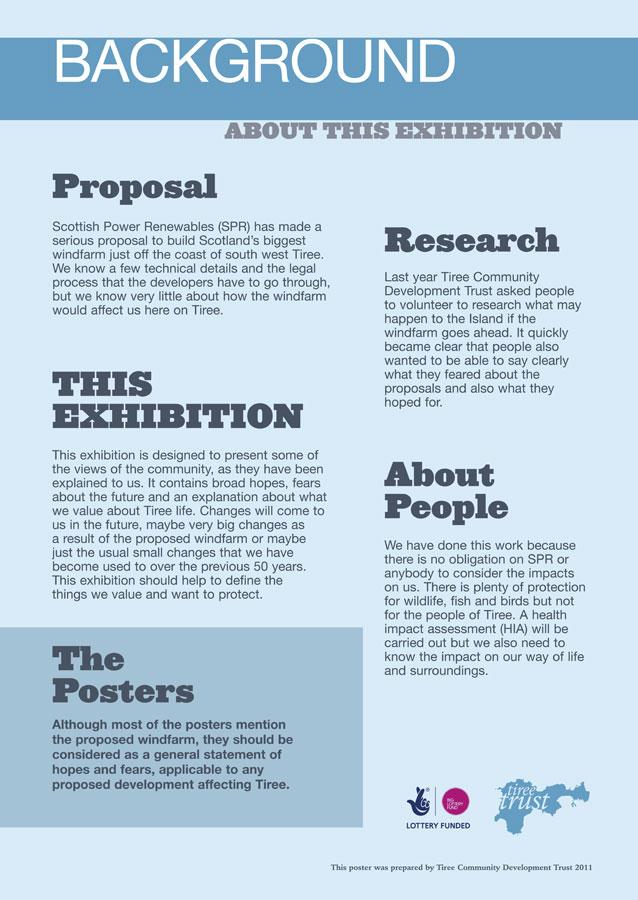 community forum poster