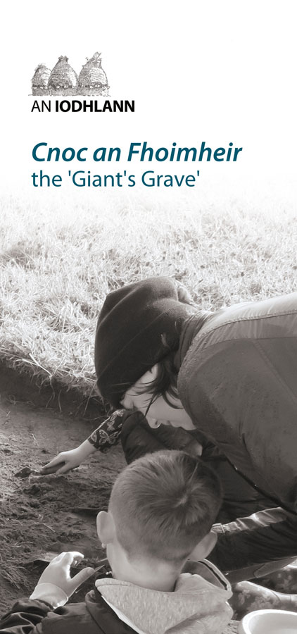 giant's grave brochure cover