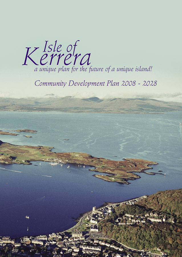 kerrera development plan cover