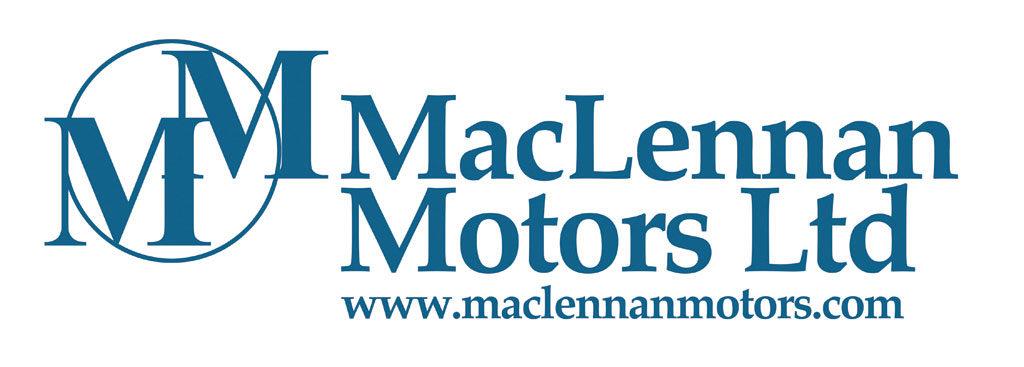 maclennan logo and branding