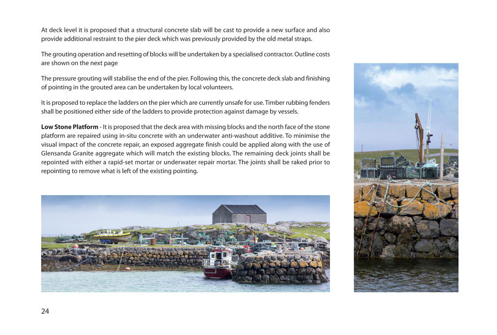 tiree marine growth plan