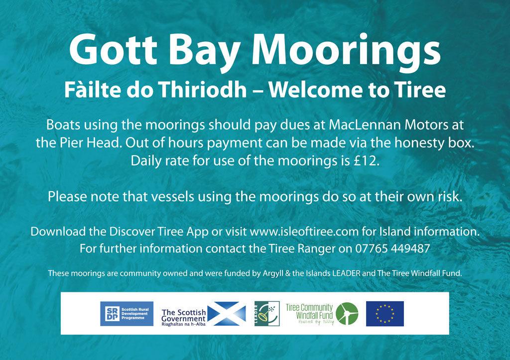 gott bay mooring poster