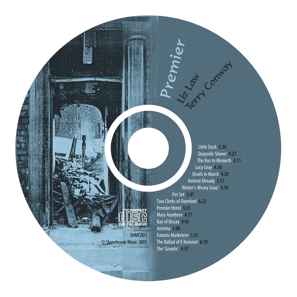 Premier album cd face