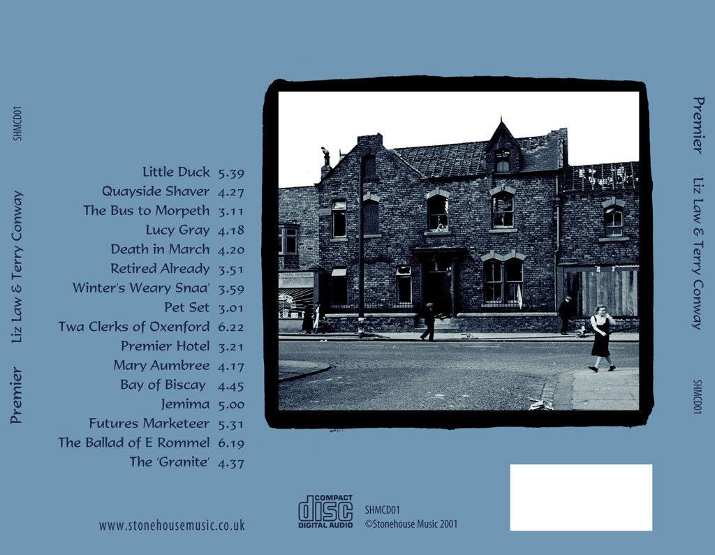 Premier album inlay card