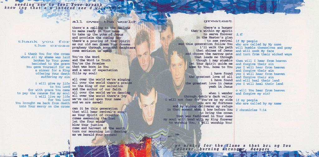 Rainmaker album booklet page