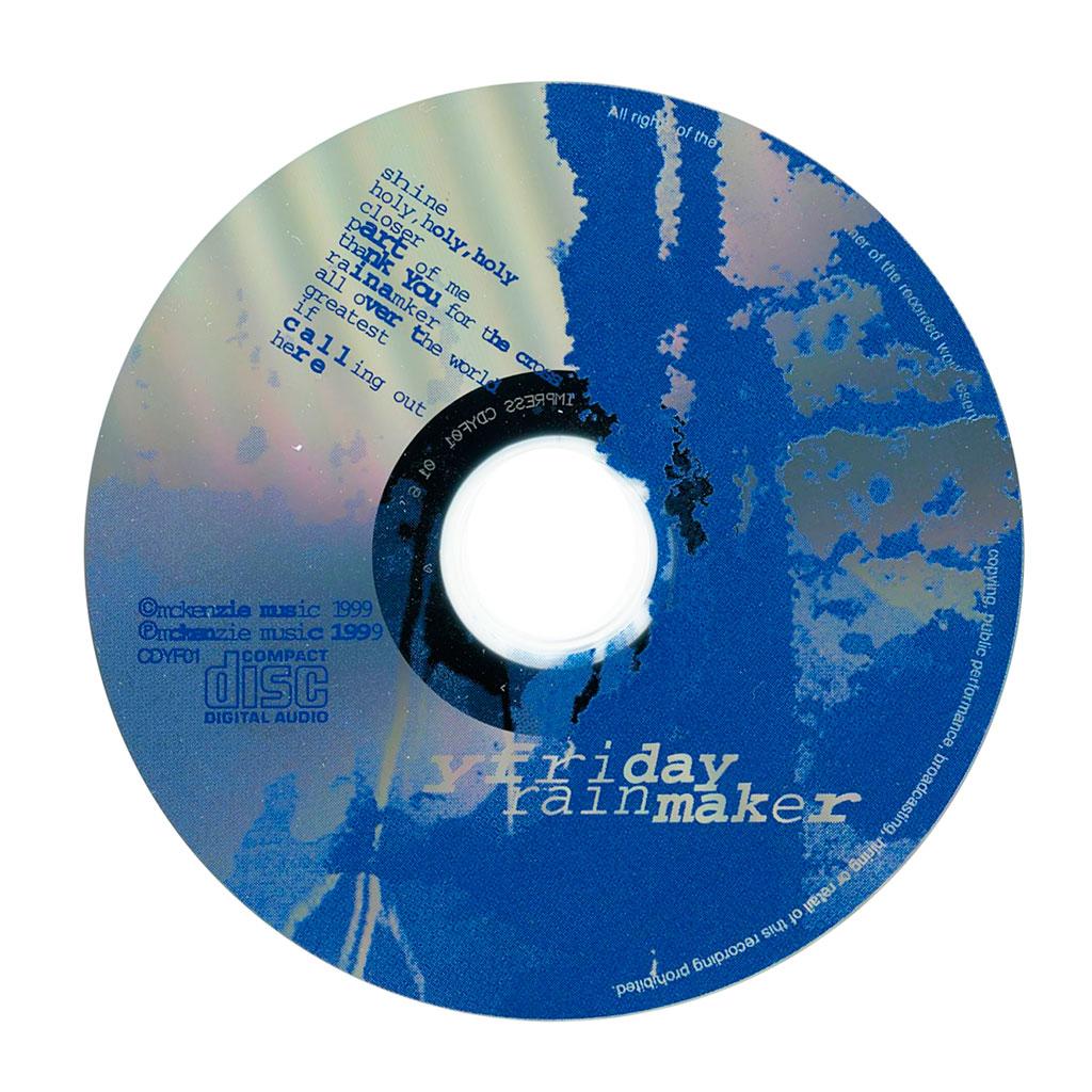 Rainmaker album cd face