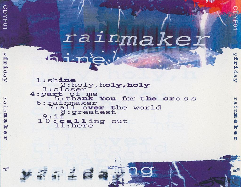 Rainmaker album inlay card