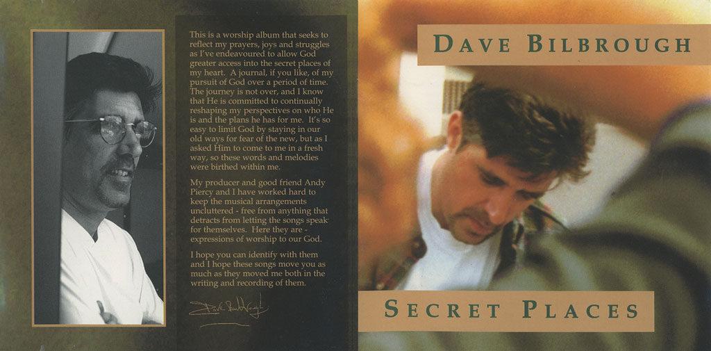 secret places cd booklet cover