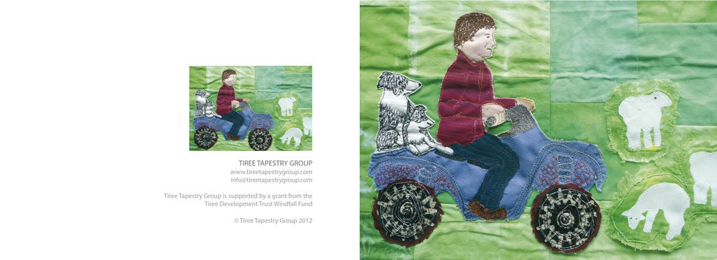 tapestry group greetings card