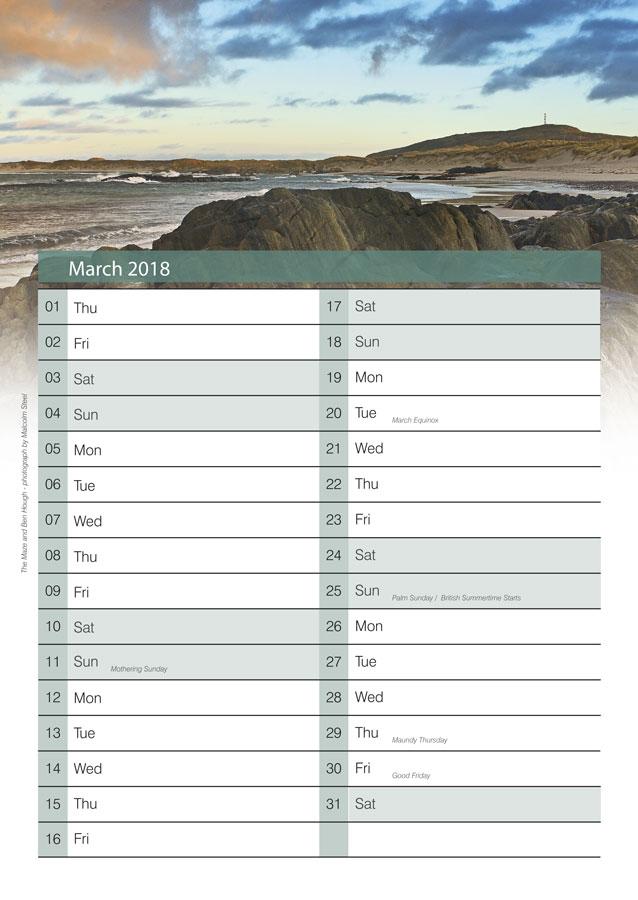 nadair thiriodh calendar