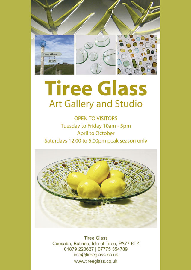 tiree glass poster