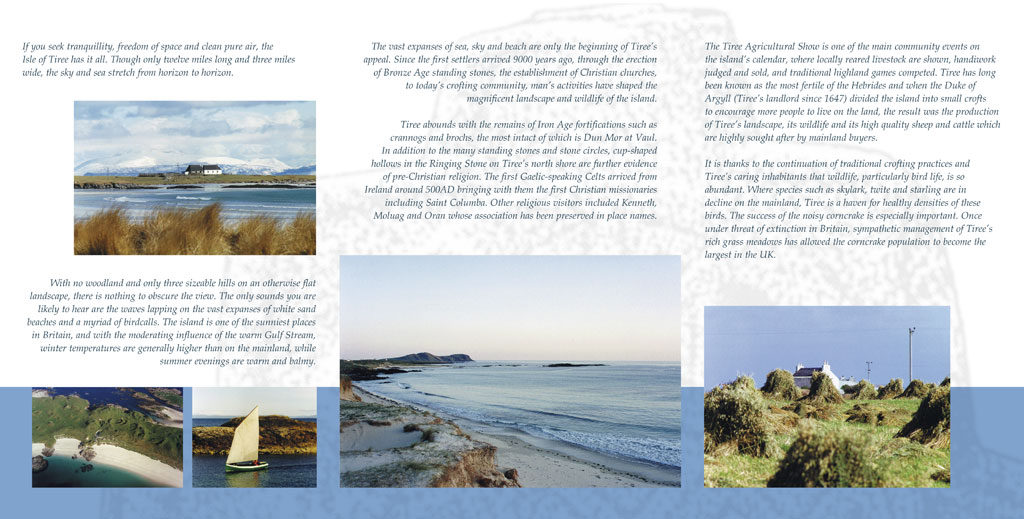 wildlife and heritage brochure page