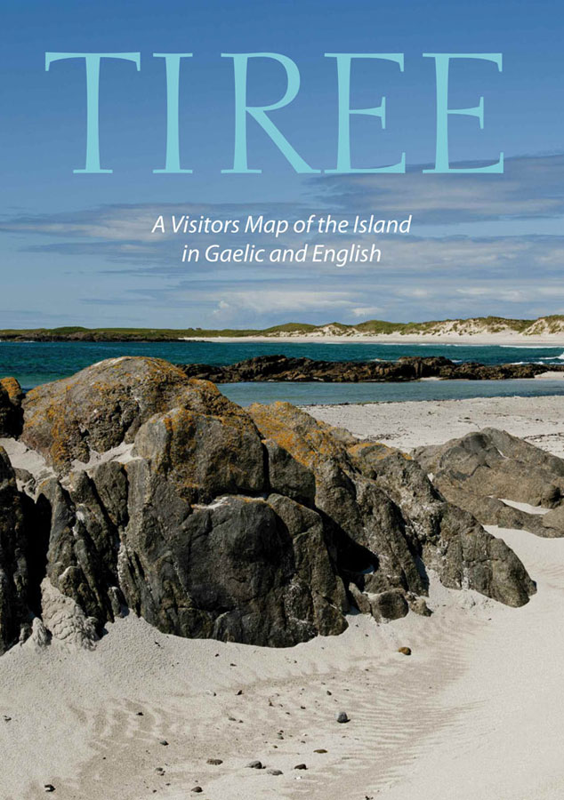tiree visitor map cover