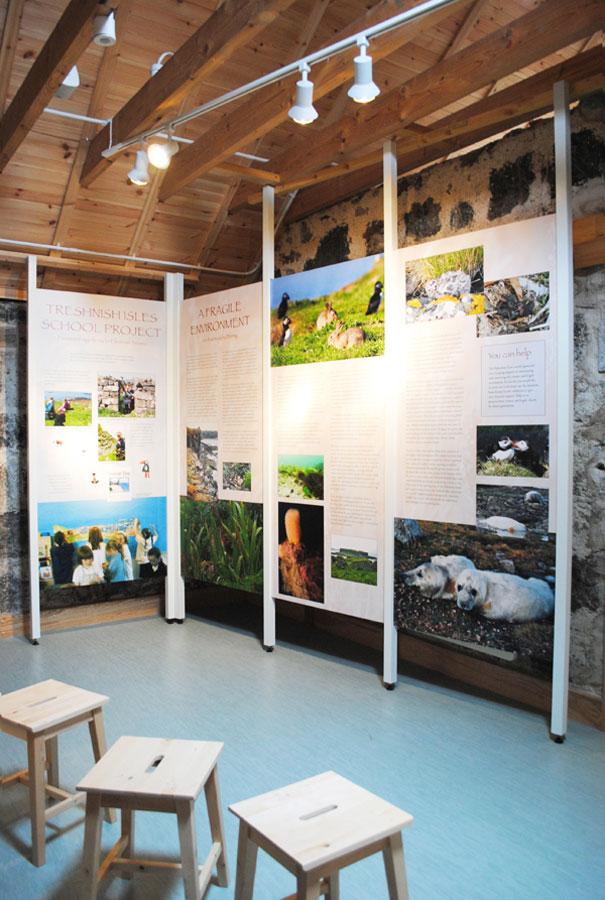 treshnish exhibition photo