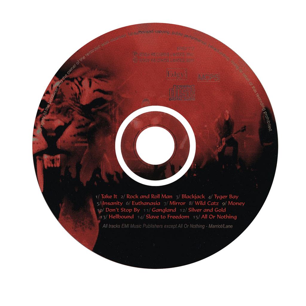 tygers cd face