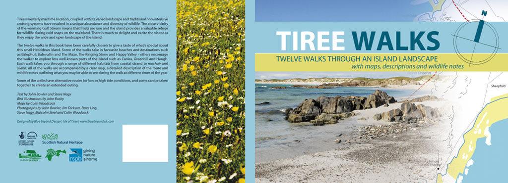 tiree walks book cover spread