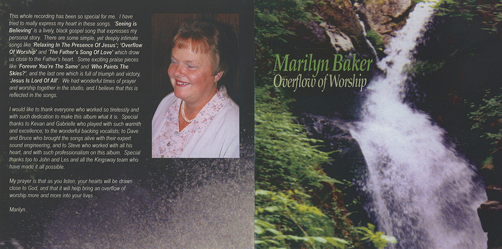 Overflow of Worship Booklet Cover