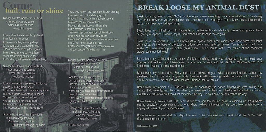 Morris Quinlan Booklet Page
