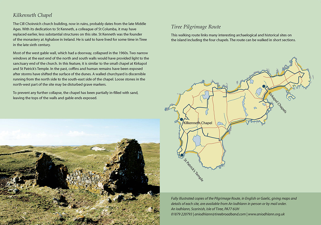 Tiree's Chapels Brochure page