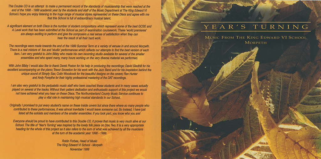 A Year's Turning Booklet Cover